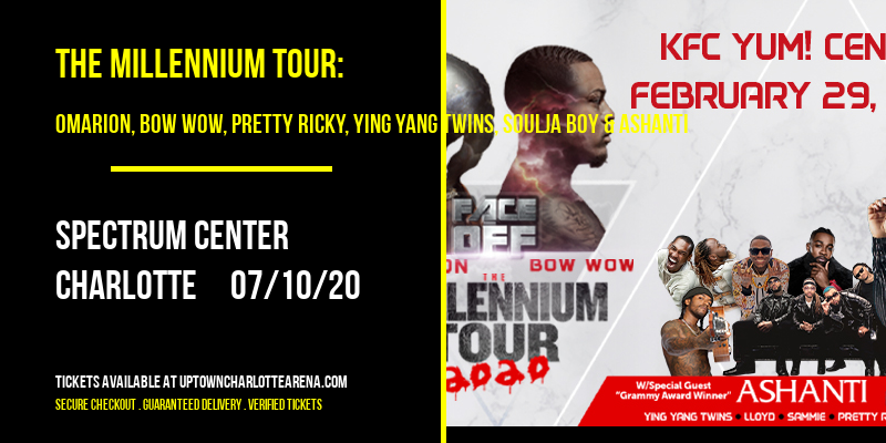The Millennium Tour: Omarion, Bow Wow, Pretty Ricky, Ying Yang Twins, Soulja Boy & Ashanti at Spectrum Center