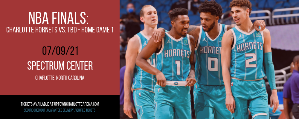 NBA Finals: Charlotte Hornets vs. TBD - Home Game 1 (Date: TBD - If Necessary) [CANCELLED] at Spectrum Center
