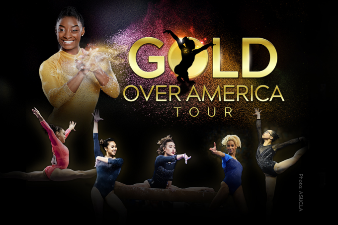 Gold Over America Tour: Simone Biles at Spectrum Center